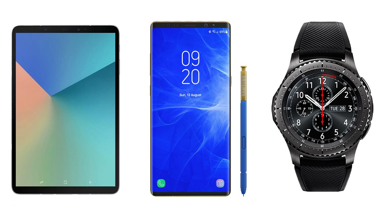 Samsung đã sẵn sàng cho loạt sản phẩm mới: Galaxy Note9, Gear S4, Tab S4 …