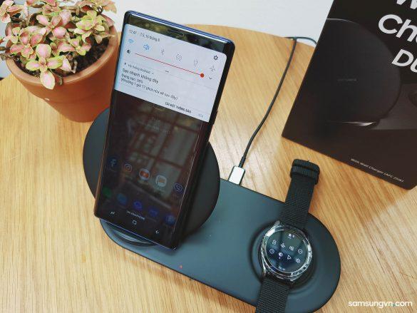 Mở hộp & Trên tay Đế sạc không dây đôi và cáp DeX HDMI cho Note9