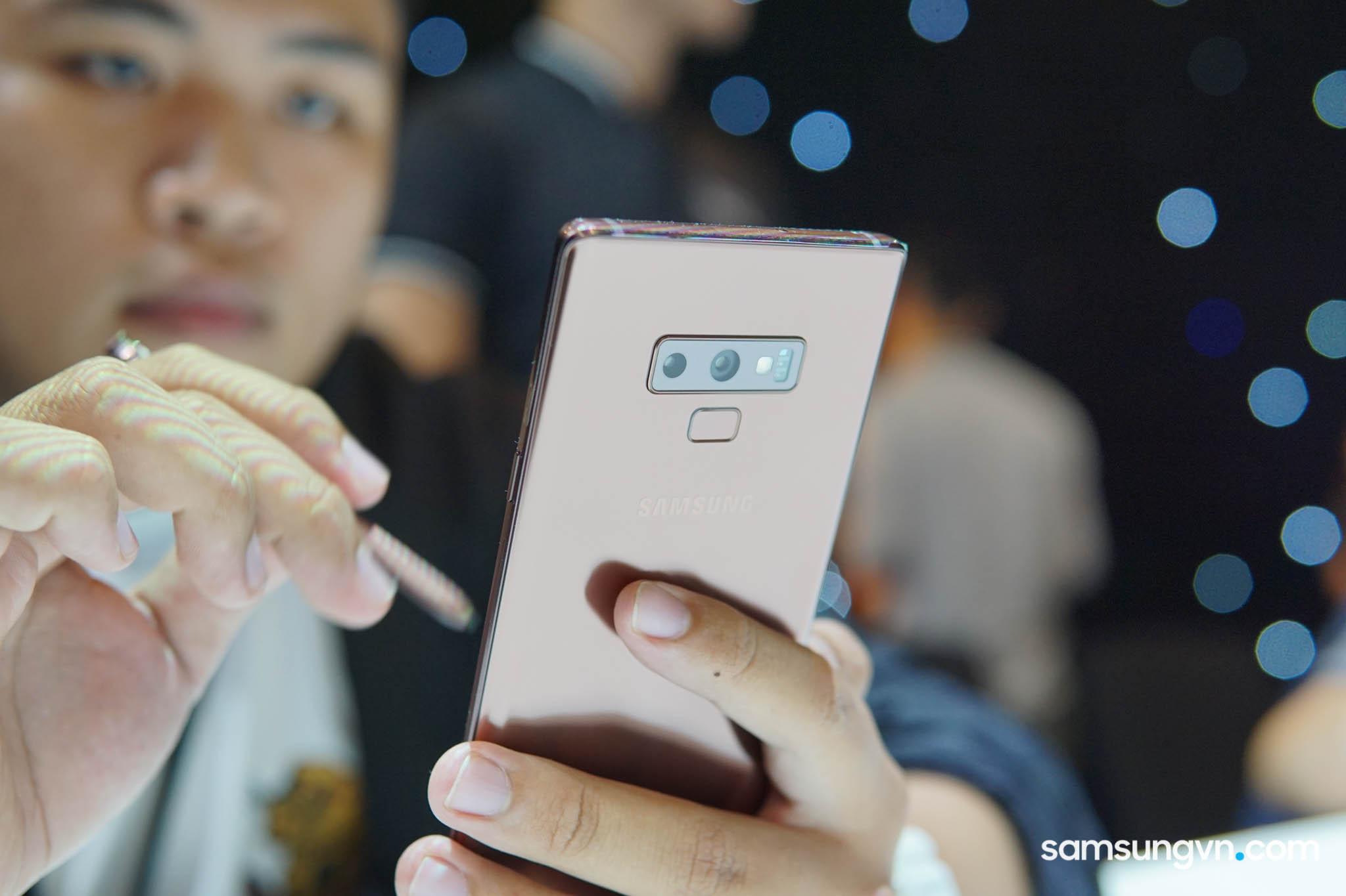 Chi tiết về những Đặc quyền riêng cho chủ nhân Galaxy Note9