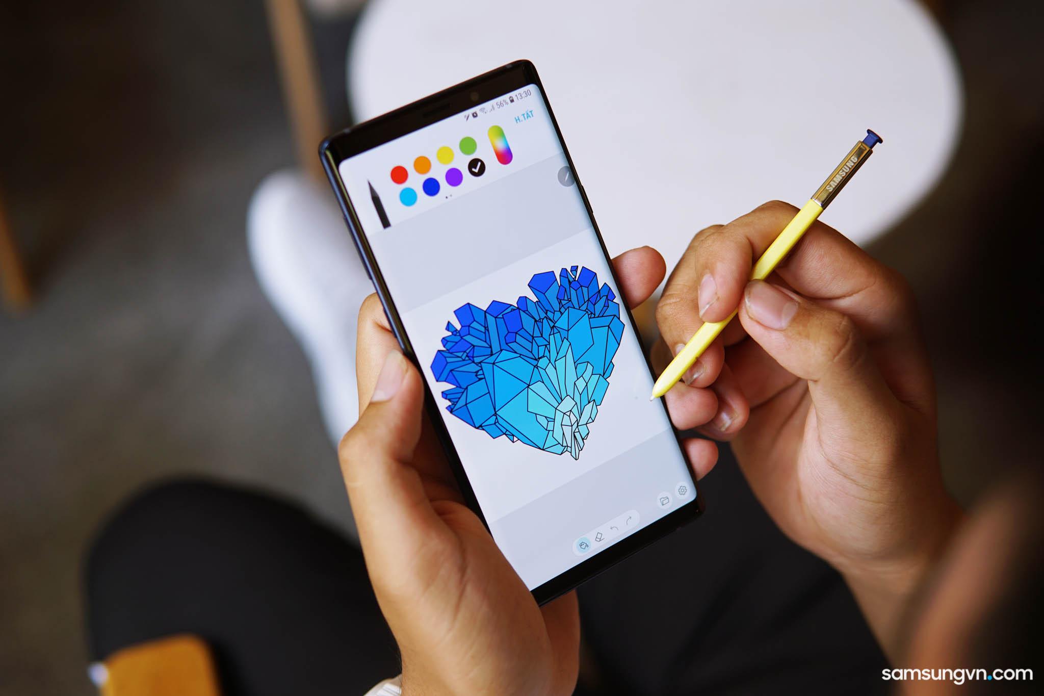 """""""Bút thần kỳ"""" S Pen trên Galaxy Note9 làm được gì?"""