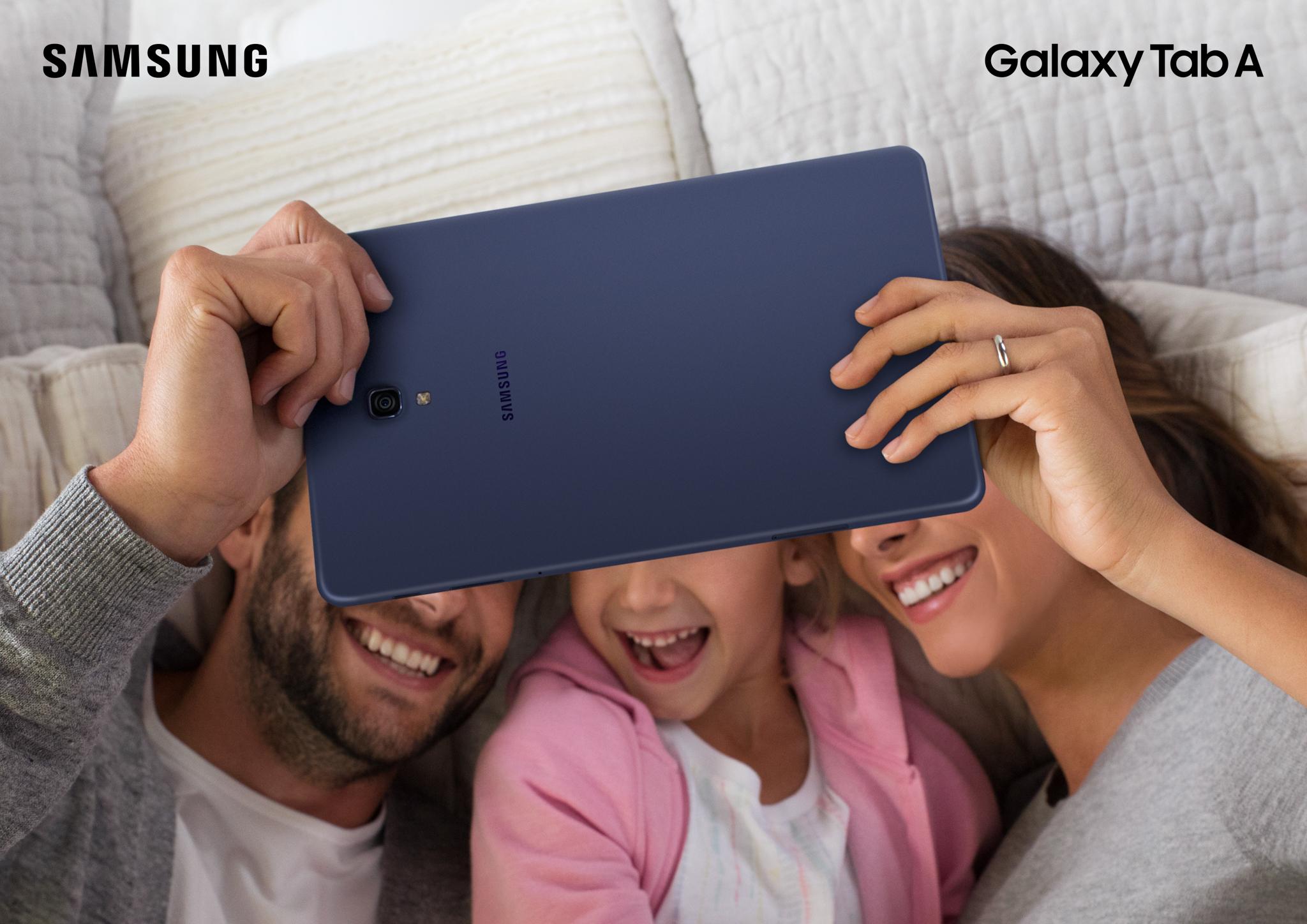 """Samsung ra mắt Galaxy Tab A 10.5"""": phù hợp cho nhu cầu giải trí gia đình"""