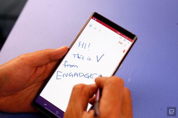 Trên tay Galaxy Note9: S Pen và những trang bị tối tân