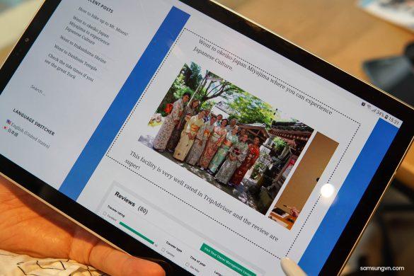 Những tính năng cực hay và hữu dụng trên S Pen của Galaxy Tab S4