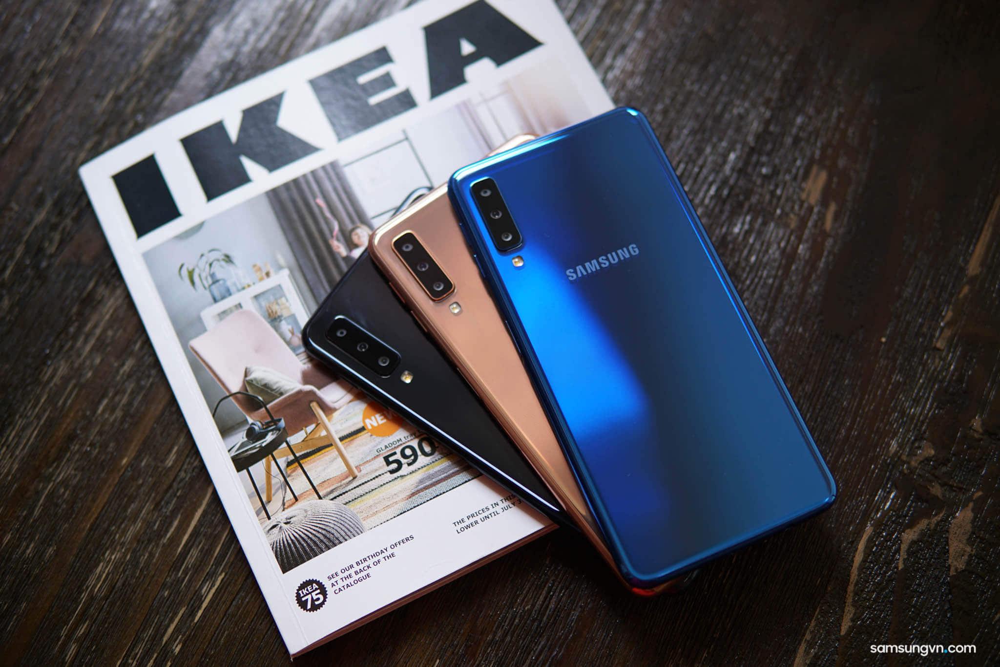 Tổng hợp Ưu đãi cho Khách hàng khi Đặt trước Galaxy A7 (2018) tại các cửa hàng trên Toàn quốc