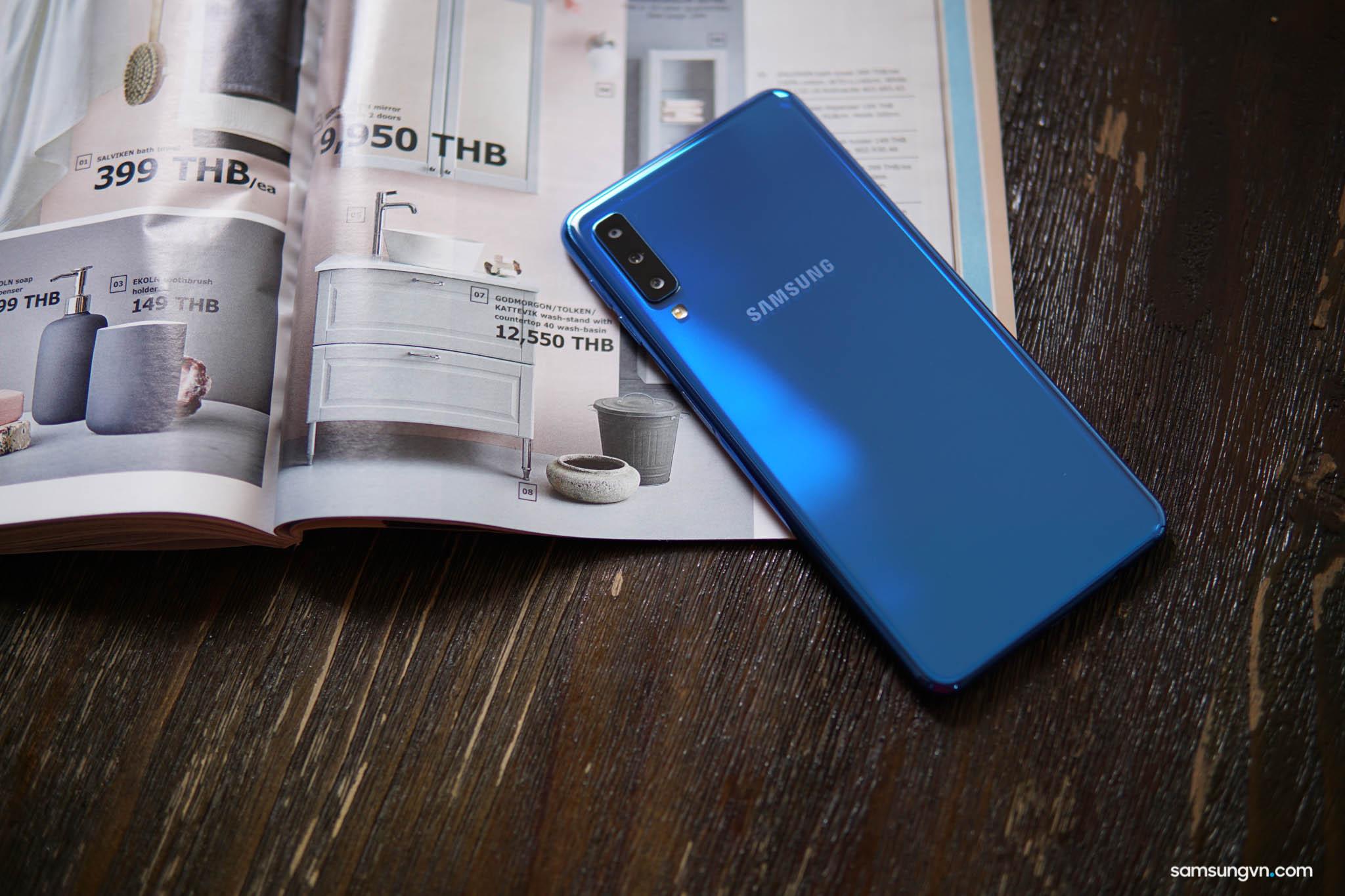 Chi tiết Galaxy A7 – chiếc smartphone tốt nhất dành cho người trẻ thích trải nghiệm thế giới mới
