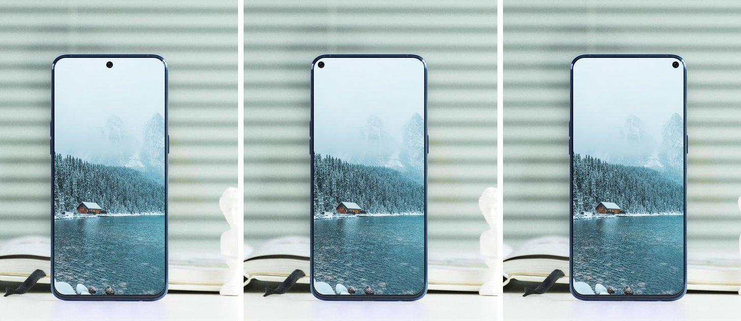 Samsung giới thiệu camera selfie ẩn vào sau màn hình, vân tay trong màn …