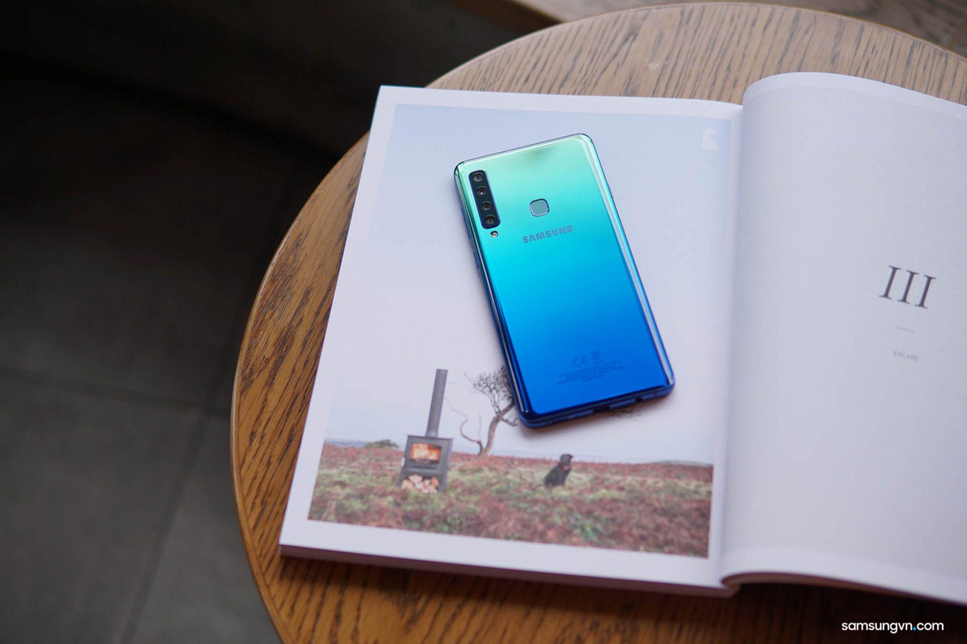 Với bộ 4 camera sau vượt trội, Galaxy A9 – niềm tự hào Samsung mang đến những trải nghiệm không giới hạn
