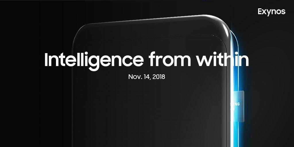 Samsung sẽ giới thiệu chip Exynos mới cho Galaxy S10 vào 14/11/2018?
