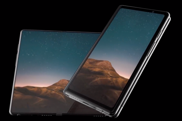 Concept về chiếc smartphone màn hình gập Galaxy F: ấn tượng!