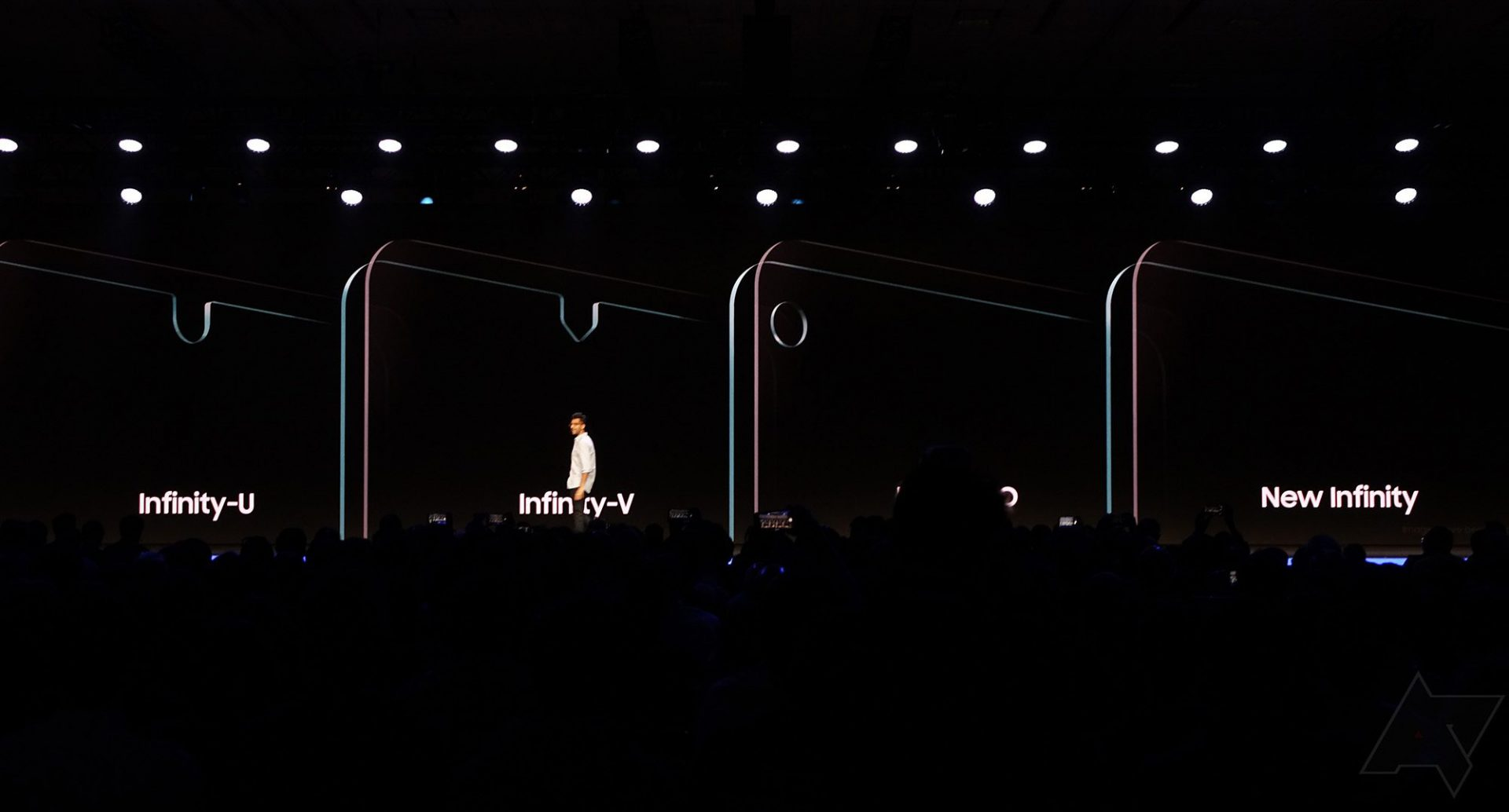 Samsung giới thiệu 4 công nghệ màn hình mới: nốt ruồi, giọt nước và tràn viền 100%