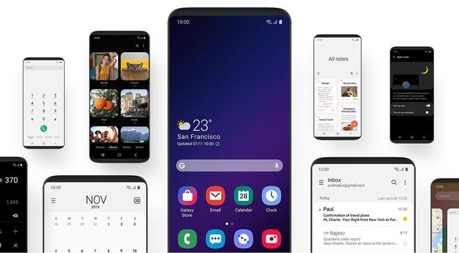 Samsung trình làng One UI: Giao diện mới tối giản, nâng cao sử dụng 1 tay, thử nghiệm trên Galaxy S9 & Note9 từ tháng 11/2018