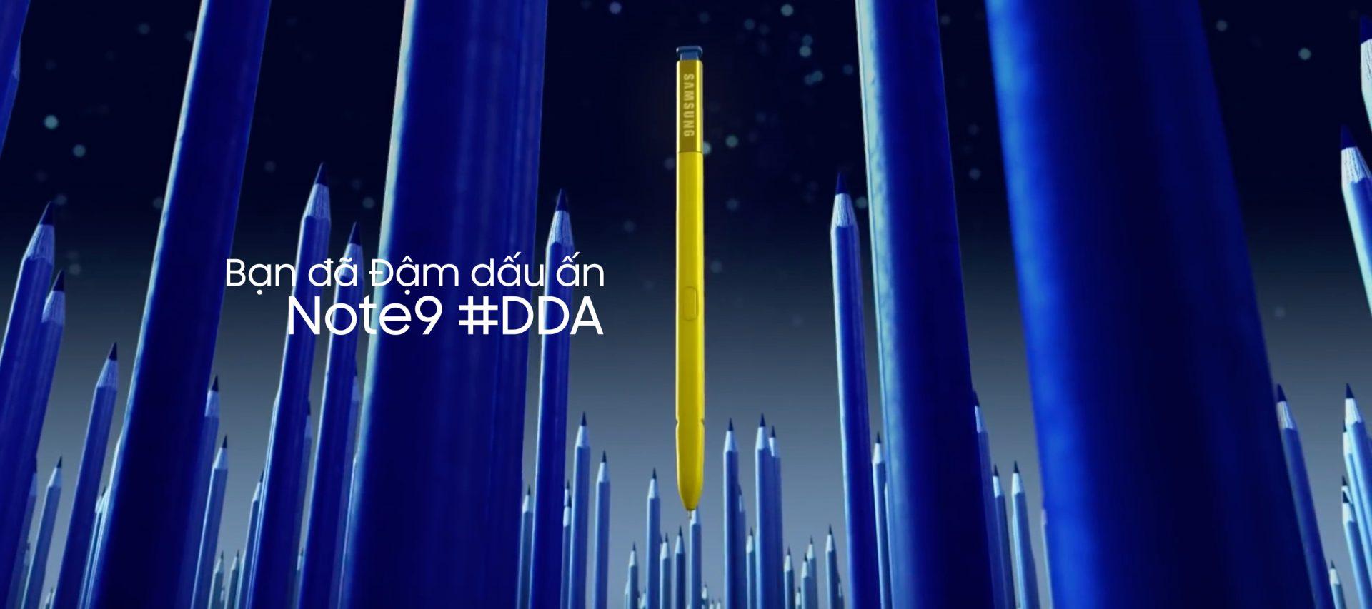 Bạn đã bắt kịp trend #DDA với Note9 chưa?