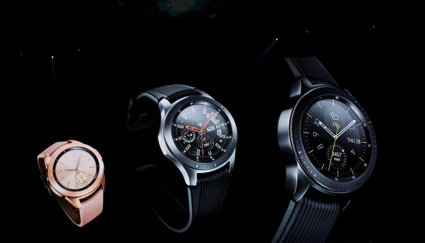 Đồng hồ thông minh Samsung Galaxy cũng sẽ có vân tay trên màn hình?