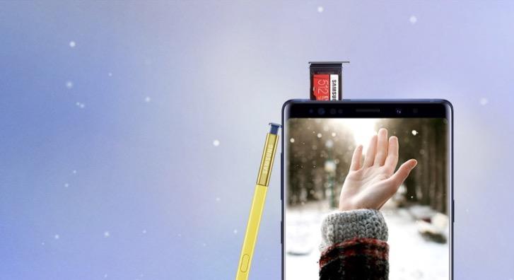 Cuối năm rồi, đổi điện thoại mới ngay với chương trình Lên đời siêu phẩm Note9!