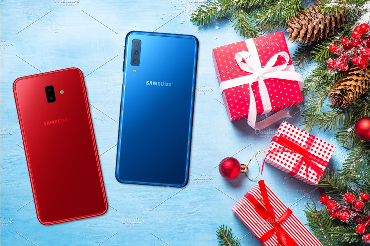 """""""Yêu là tặng quà"""" đến 500.000 VND khi mua Galaxy A7, Galaxy J6+"""