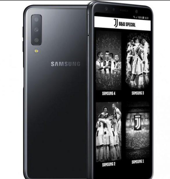Samsung cùng CLB bóng đá Juventus ra mắt phiên bản đặc biệt Galaxy A7 Juventus
