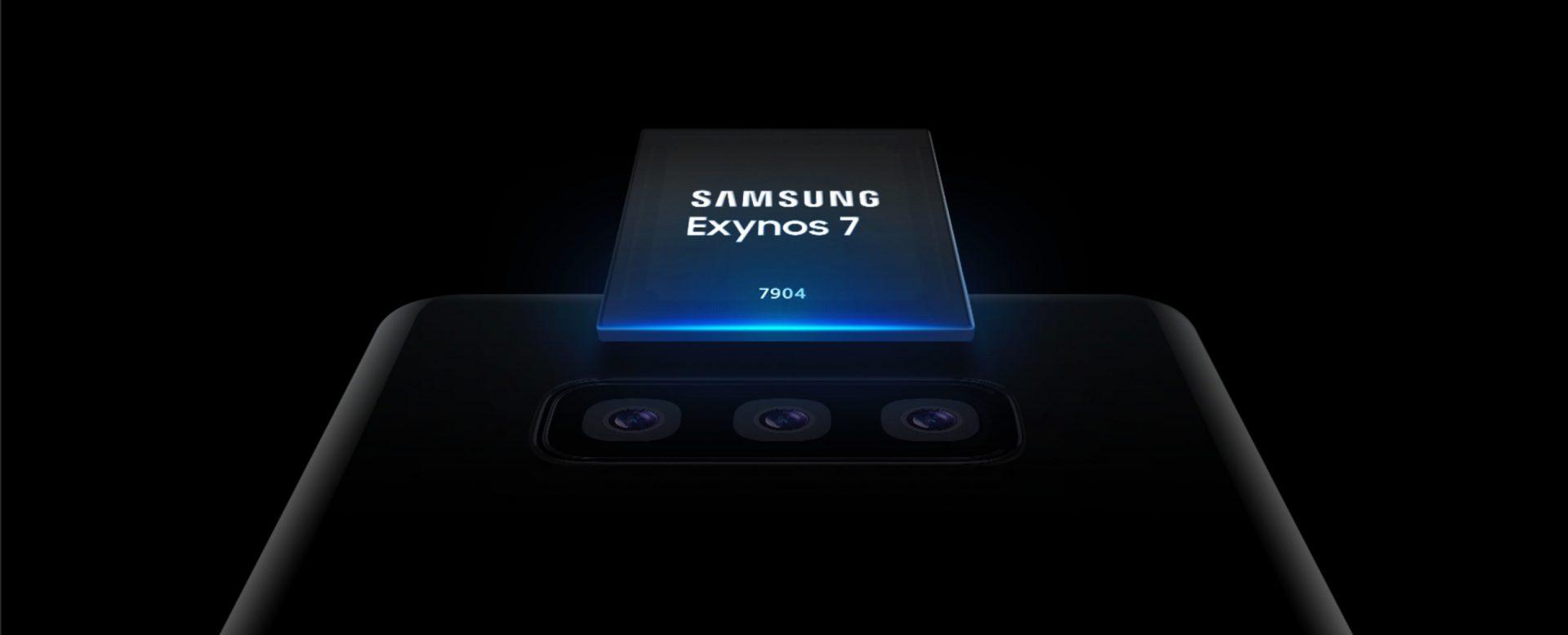 Samsung ra mắt vi xử lý tầm trung Exynos 7904 mới: hỗ trợ 3 camera, quay 4K UHD