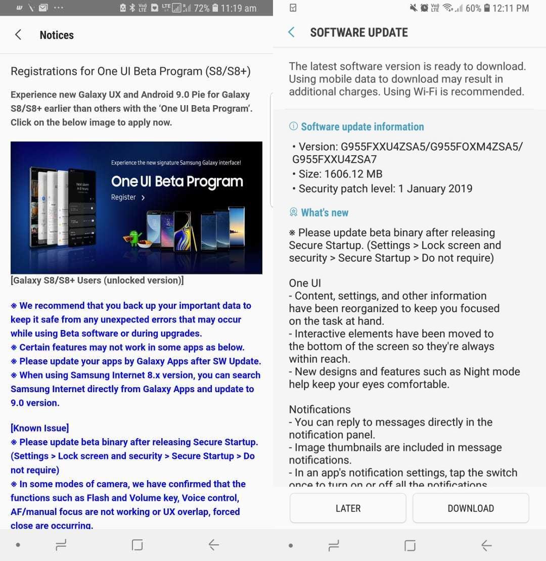 Samsung khởi động Chương trình Thử nghiệm One UI Beta (Android 9 Pie