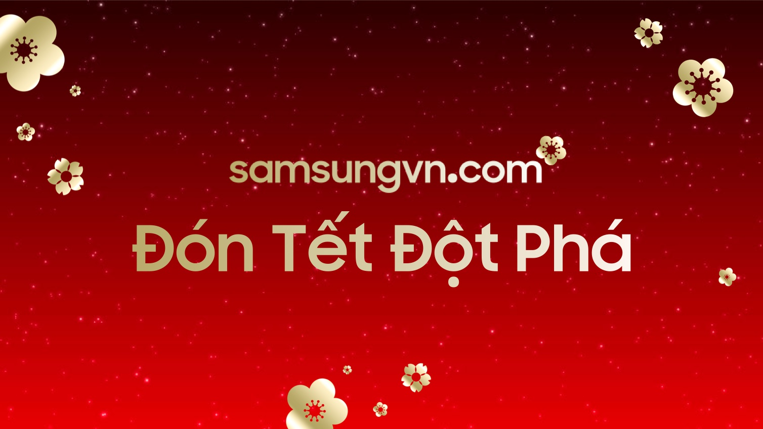 SamsungVN.com tân trang Giao diện để Đón Tết cùng anh em