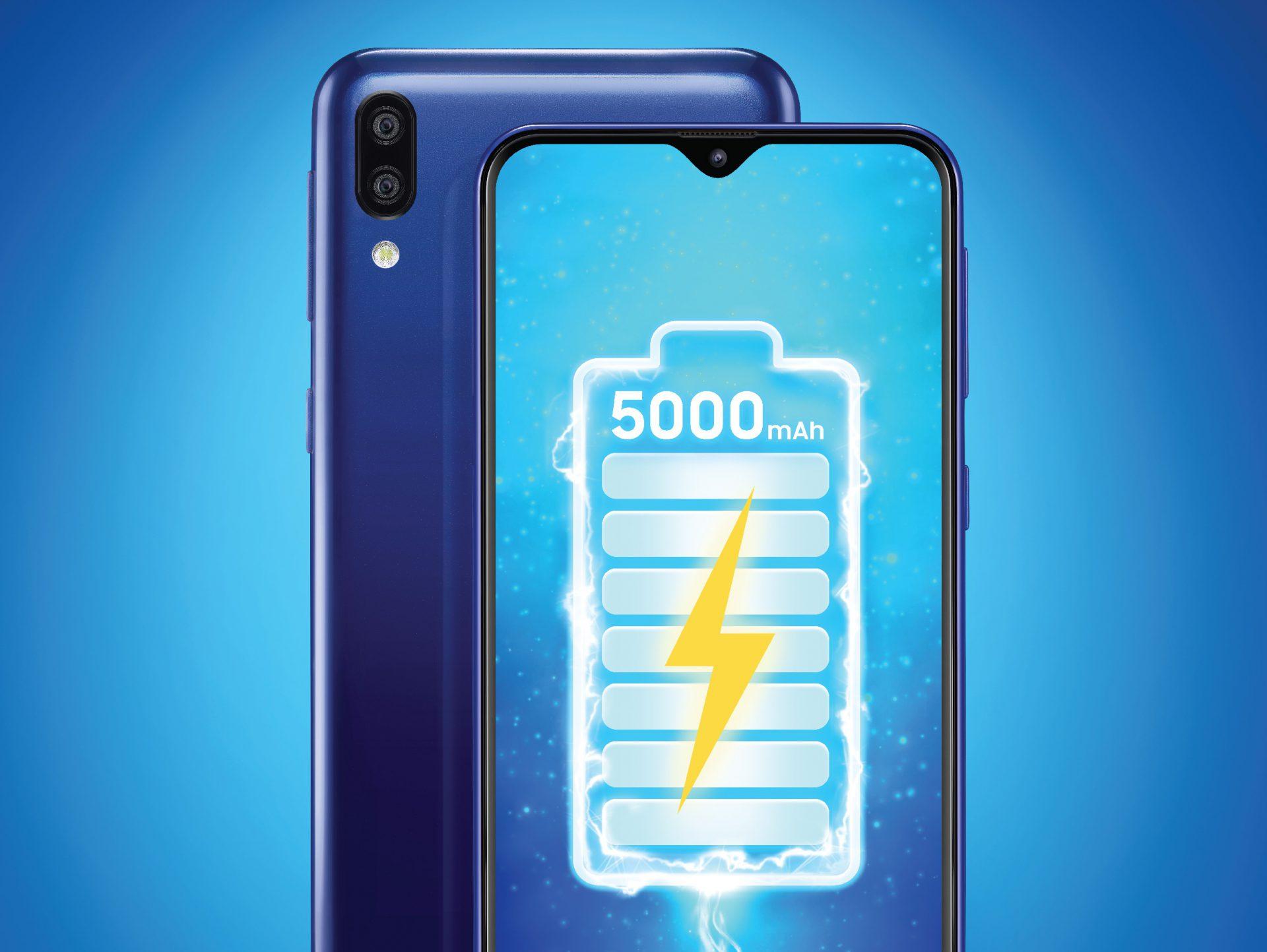 Galaxy M20 chính thức trình làng: ấn tượng với pin khủng 5000 mAh, sạc nhanh tức thì cùng camera góc siêu rộng 120 độ, giá chỉ 4,9 triệu đồng