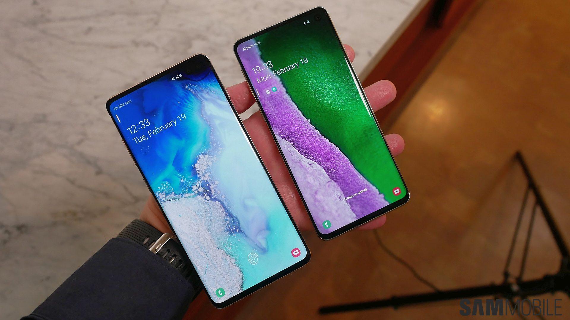 Mời bạn tải Bộ ảnh nền (Wallpapers) của Galaxy S10
