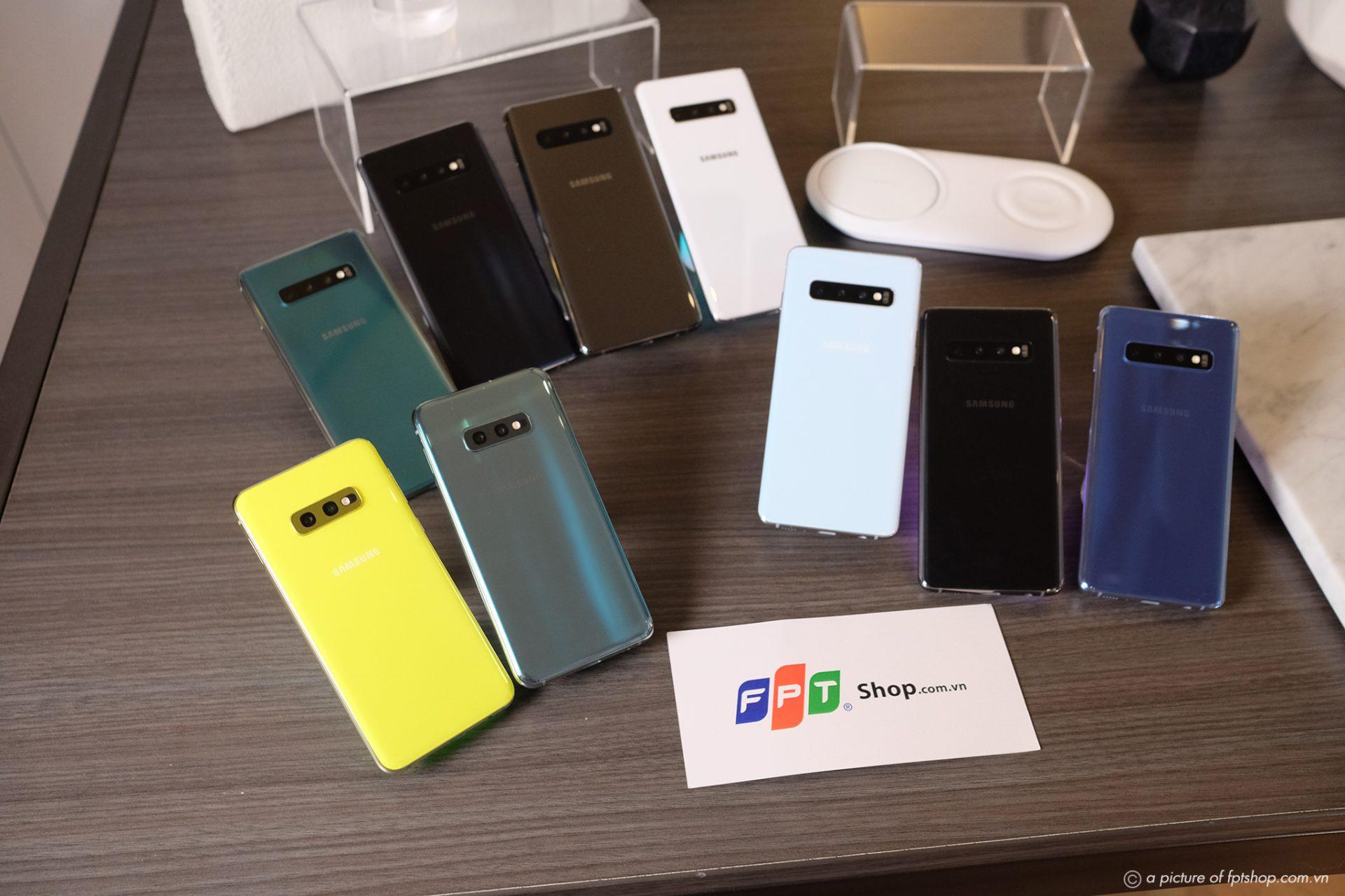 Đặt trước Galaxy S10 | S10+ tại FPT Shop, nhận ngay bộ quà tặng 6 triệu, trợ giá đến 5,2 triệu và có cơ hội trúng 2 tỷ tiền mặt