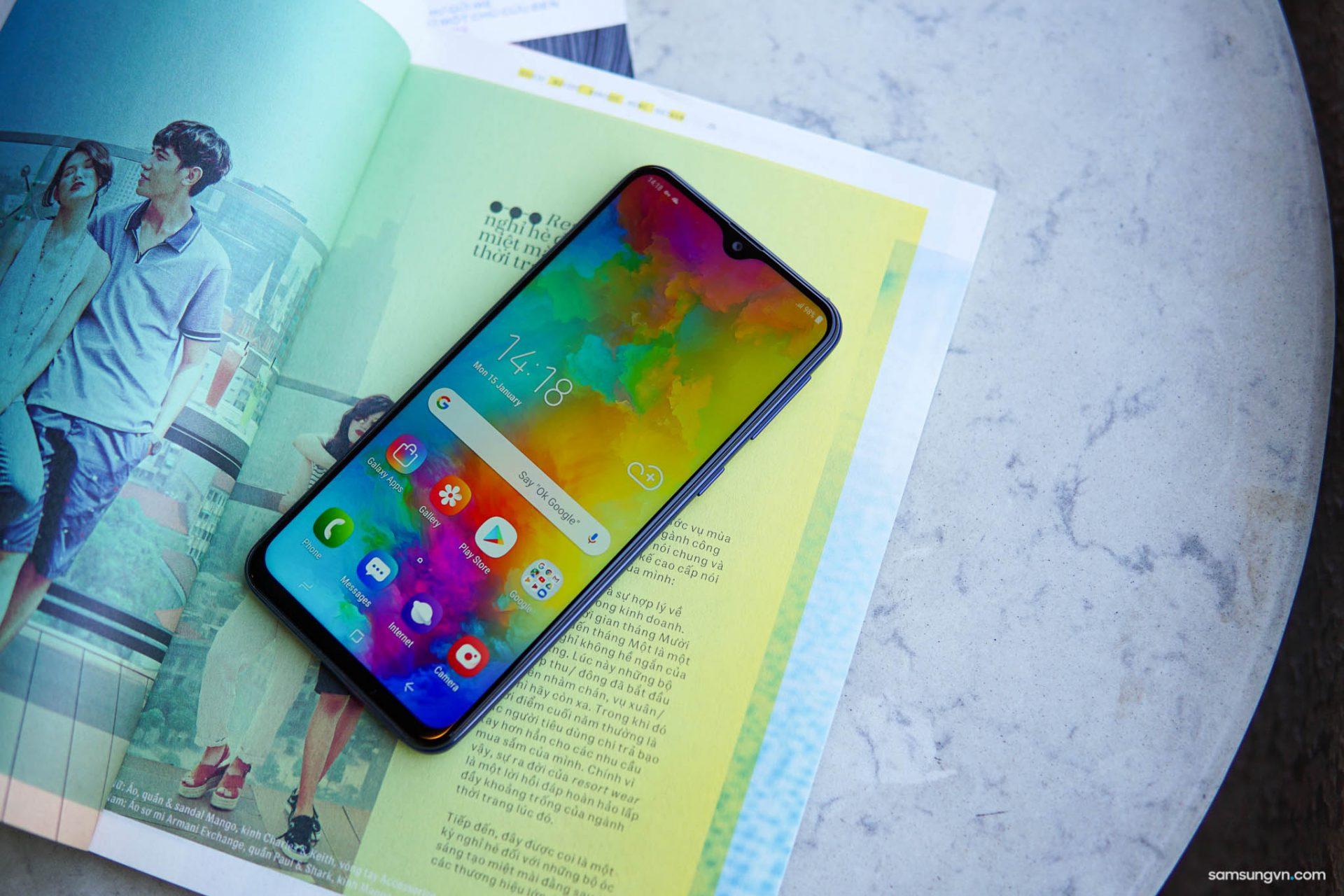 Thừa hưởng nhiều tính năng cao cấp, Galaxy M20 chính là chiếc smartphone hoàn hảo cho trải nghiệm không giới hạn
