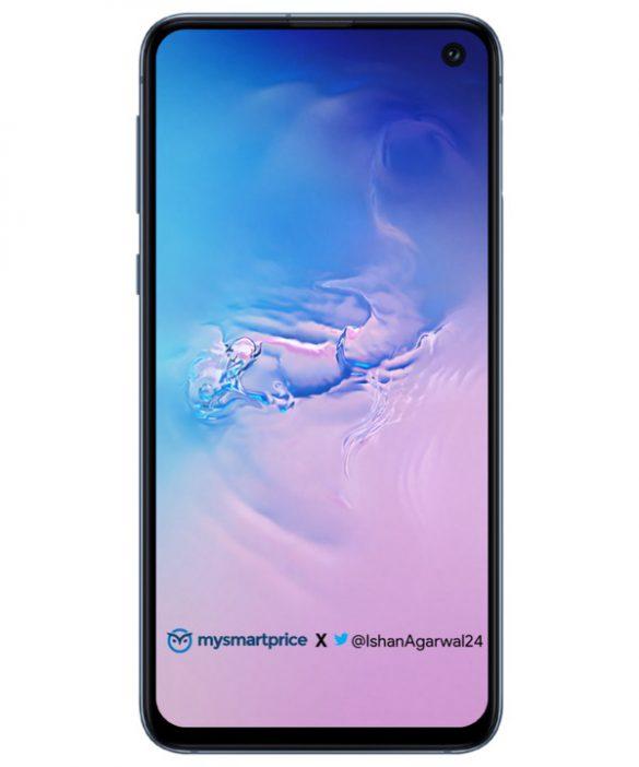 Galaxy S10 lộ diện phiên bản màu Xanh đại dương qua loạt ảnh mới nhất