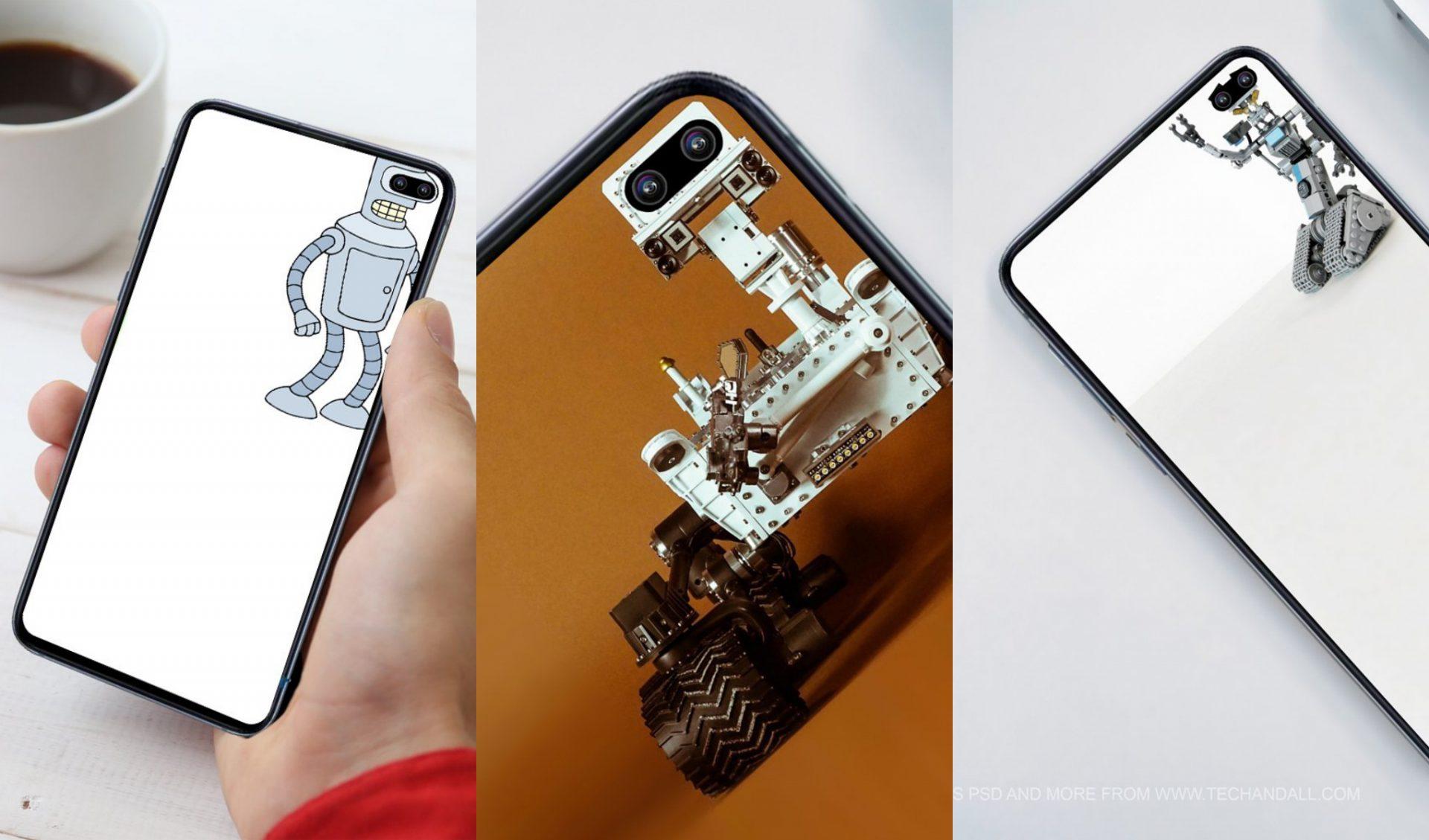 Mời bạn tải bộ ảnh nền sáng tạo ngay camera trên màn hình Infinity-O của Galaxy S10+