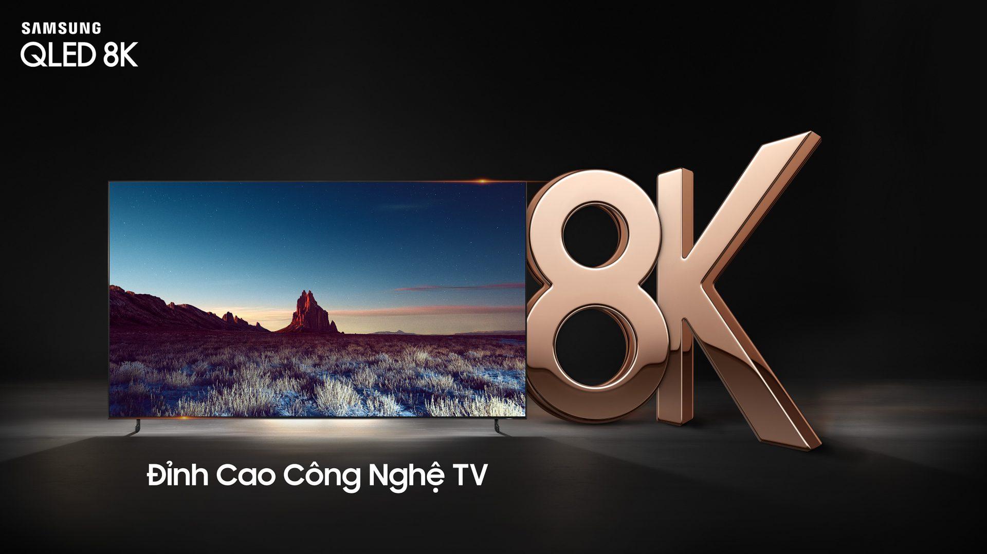 Samsung giới thiệu QLED 8K tại Việt Nam: giá từ 119 triệu, tặng ngay Galaxy S10+