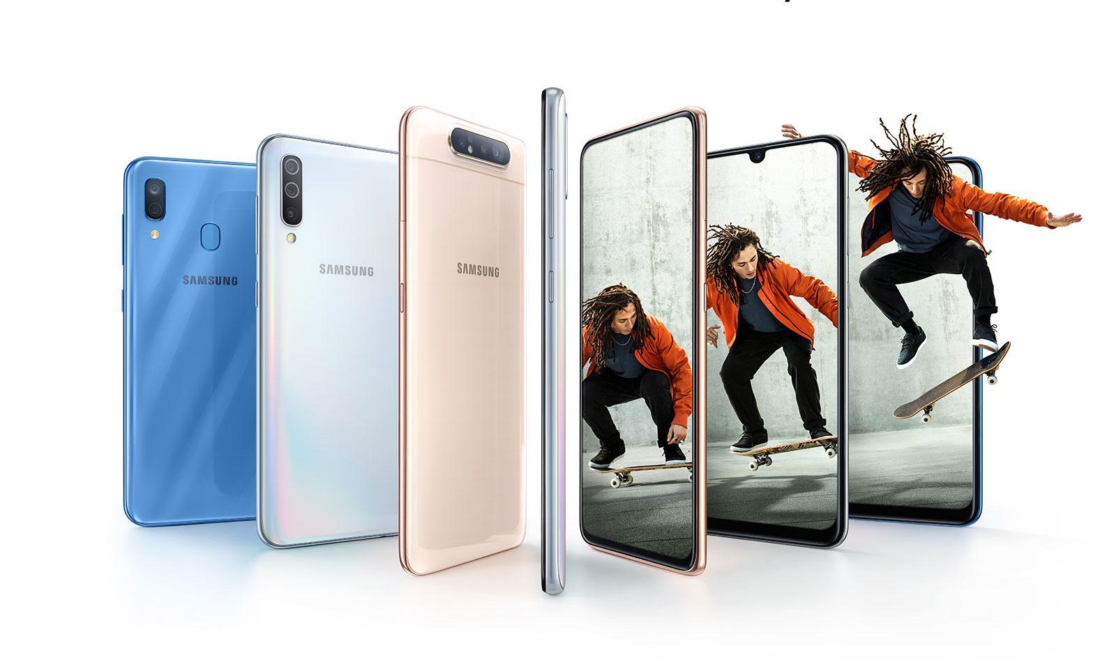 Galaxy A80 chính thức ra mắt: camera trượt xoay độc đáo, hiệu năng mạnh mẽ, lên kệ từ tháng 05/2019