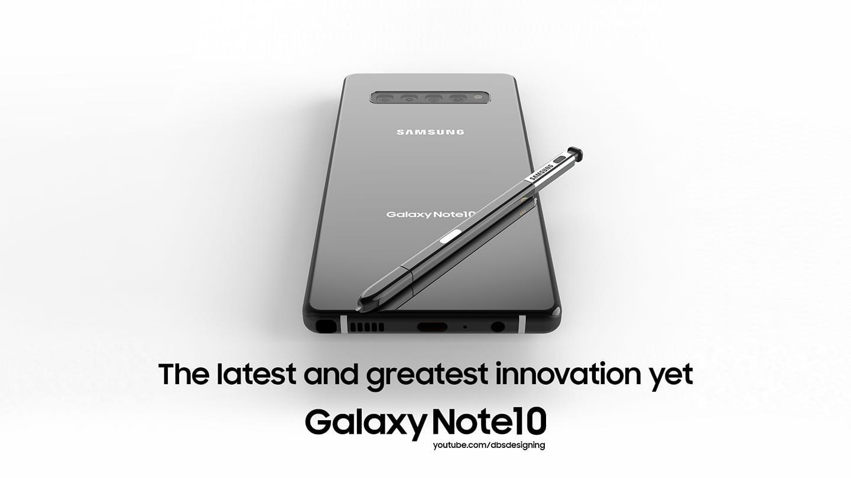 Lộ diện 1 bản dựng chiếc Galaxy Note10 với bút S Pen tích hợp camera: đặc sắc, xoá đi những điểm khuyết trên màn hình