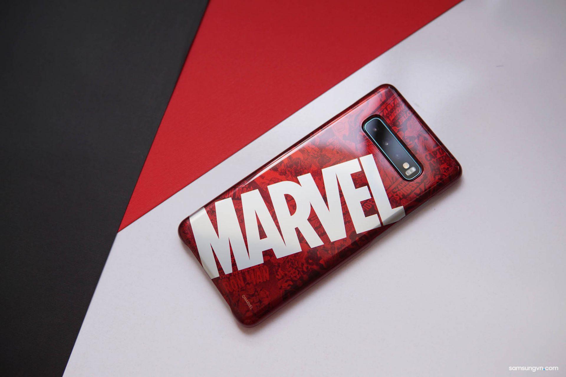 Ưu đãi 50% giá bán ốp lưng Marvel cho người dùng Galaxy S10+ tại Samsung Showcase