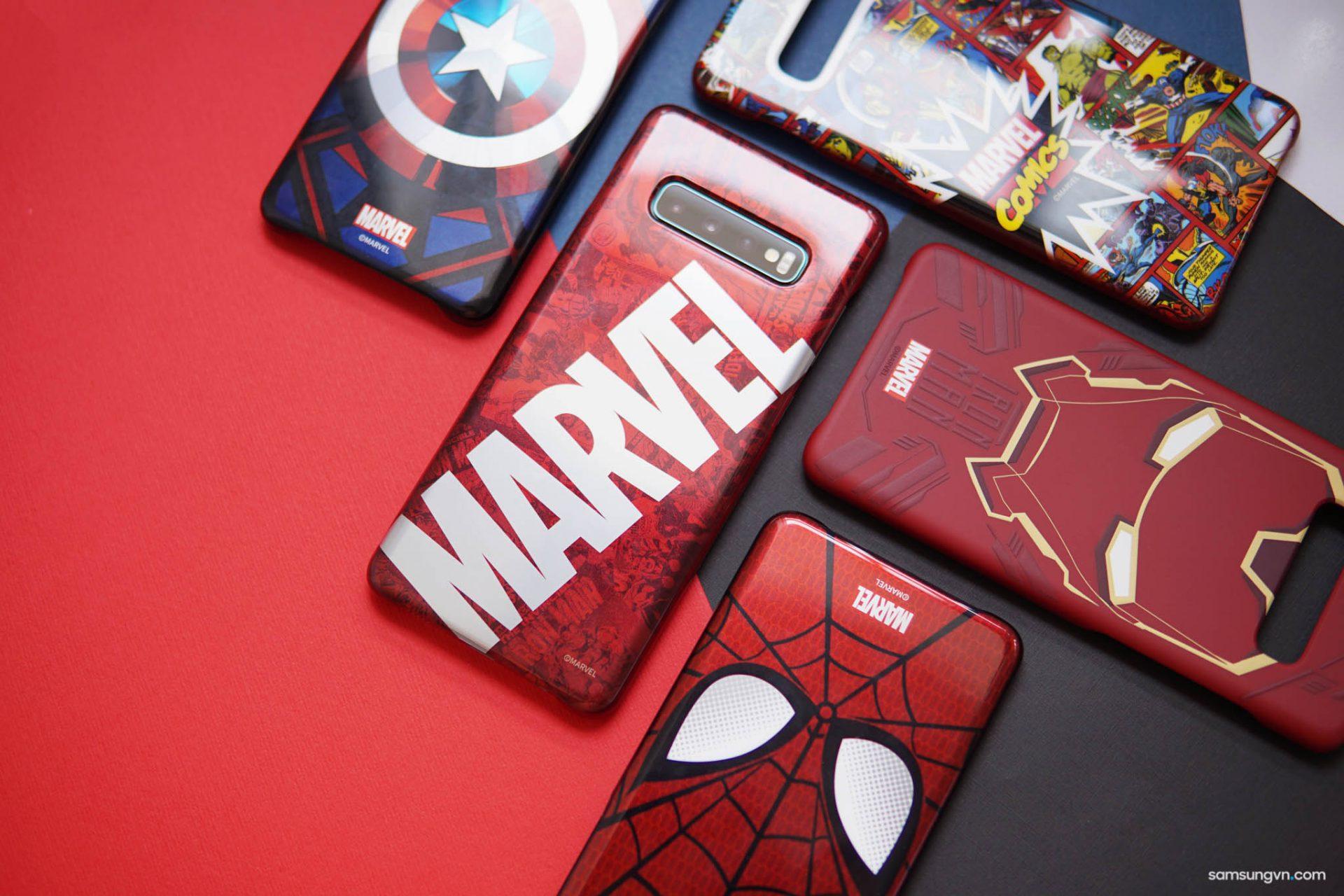 Chào đón phim Avenger: Endgame chuẩn bị ra rạp – Khui hộp Trọn bộ Ốp lưng Marvel độc đáo cho Galaxy S10+