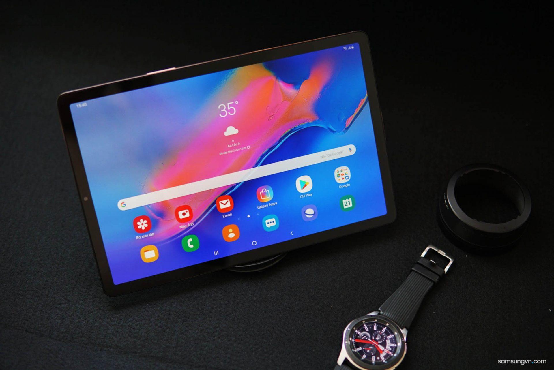 Mở hộp chiếc máy tính bảng mỏng nhẹ nhất Galaxy Tab S5e: màn hình tuyệt vời sinh ra để xem phim bom tấn!