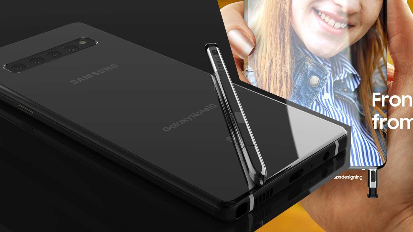 Samsung đã bắt đầu phát triển Phần mềm cho Galaxy Note10