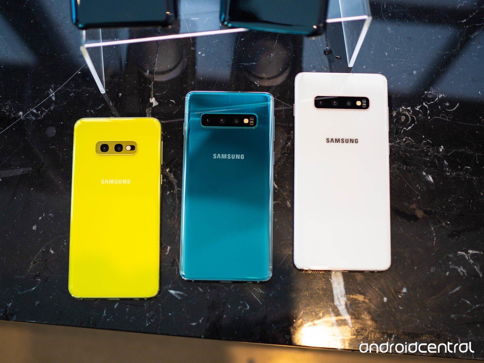 Galaxy S10 series có bản cập nhật phần mềm mới cho Tháng 5/2019