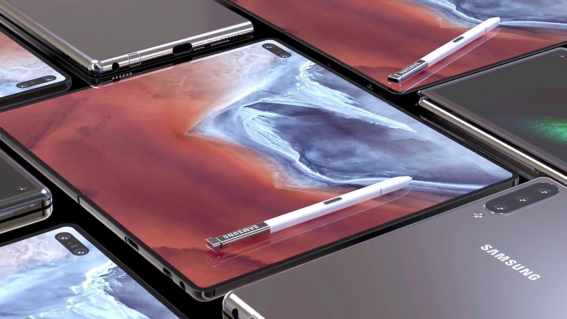 Samsung đang phát triển Galaxy Fold 2 với màn 8 inch và bút S Pen