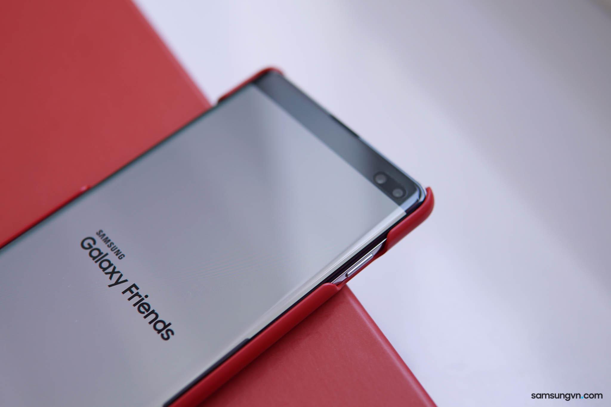 Mở hộp Galaxy S10+ Phiên bản giới hạn Park Hang Seo: màu máy mới