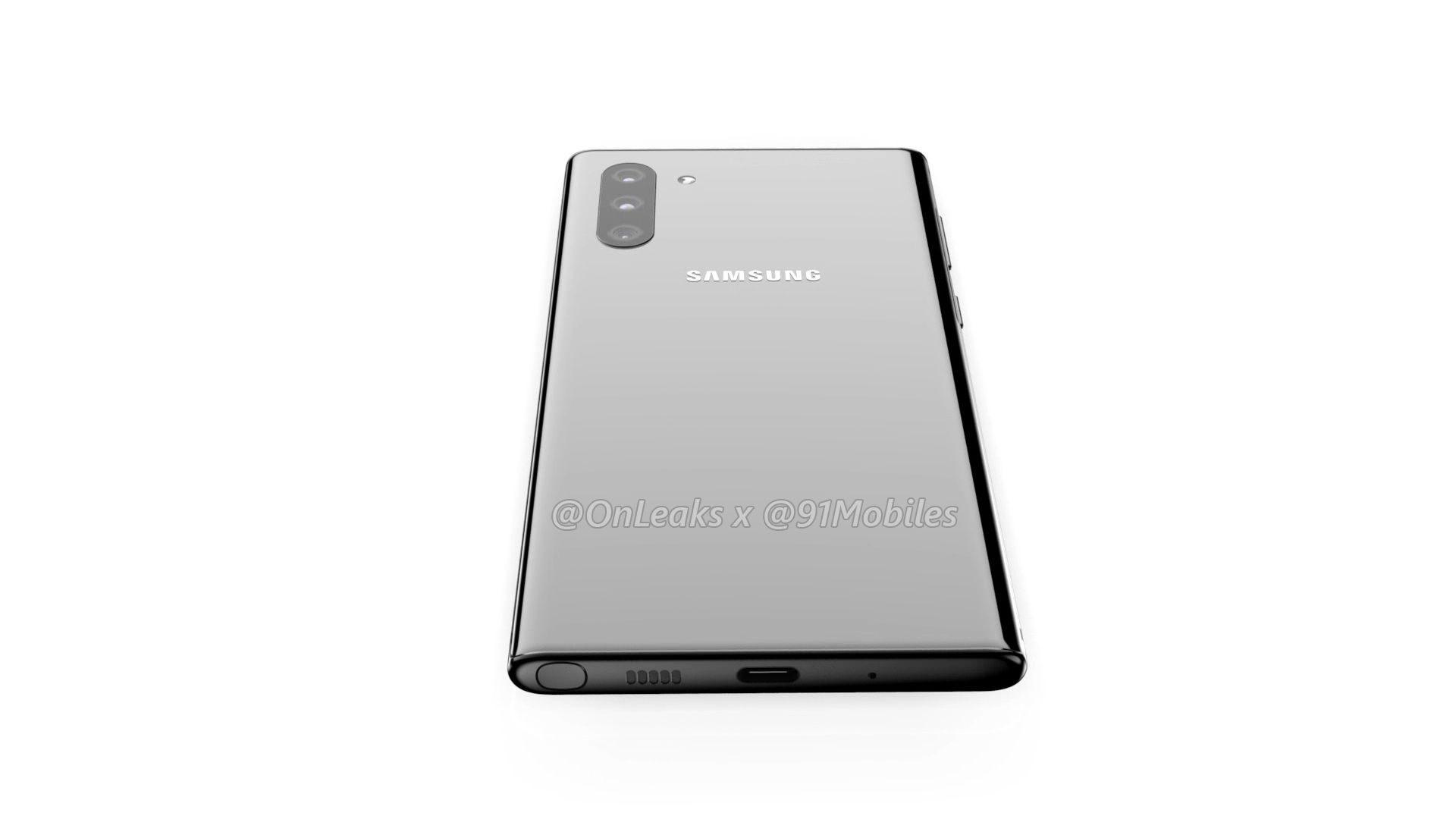 Đây có thể là thiết kế cuối cùng của Galaxy Note10? Pro sẽ khác?