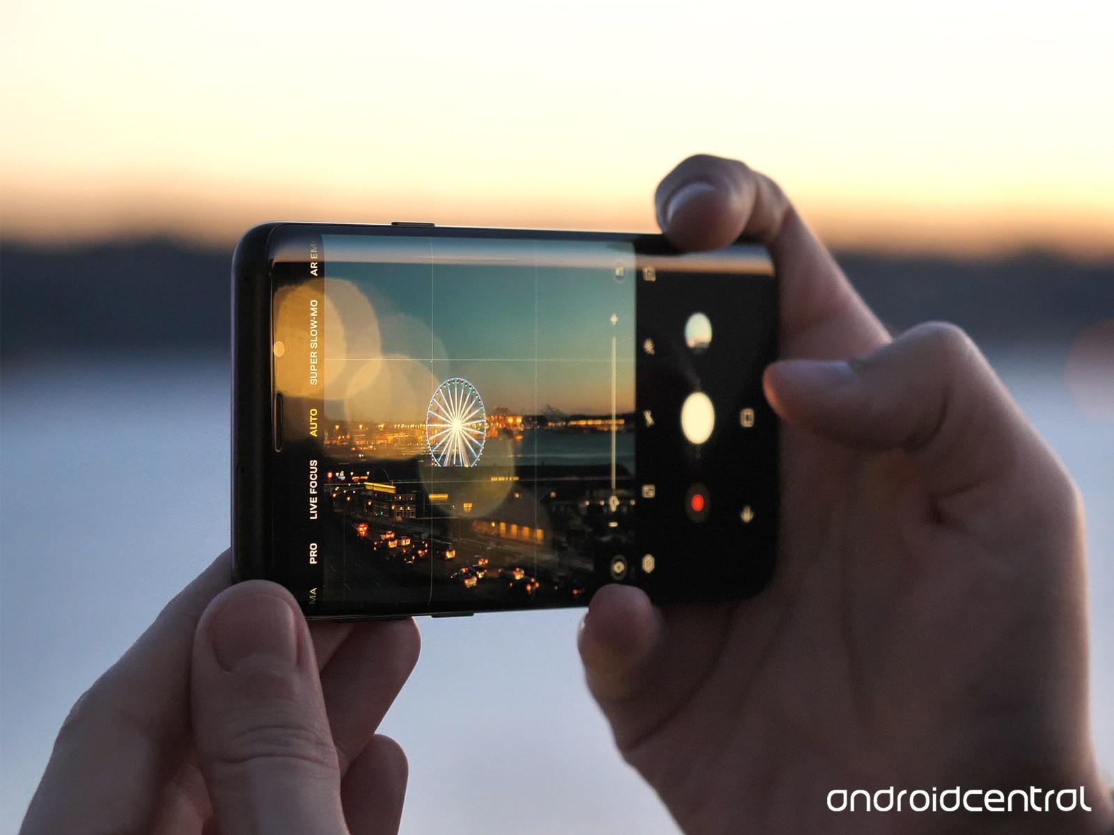 Galaxy S9   S9+ đã có Chế độ chụp ảnh Ban đêm trong Bản update mới nhất!