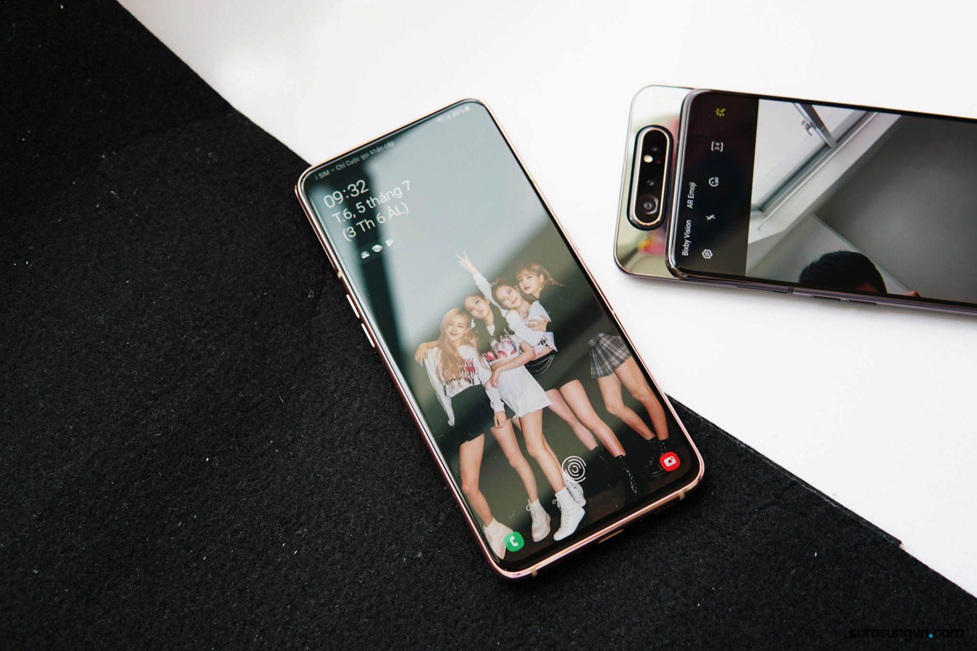 Điểm lại những công nghệ hiện đại nhất Thế giới có trên Galaxy A80