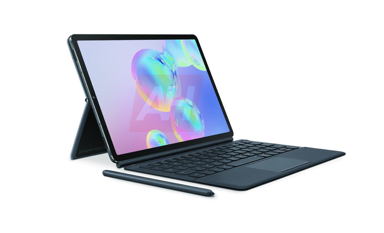 Lộ diện loạt ảnh báo chí rõ nét của máy tính bảng mới Galaxy Tab S6