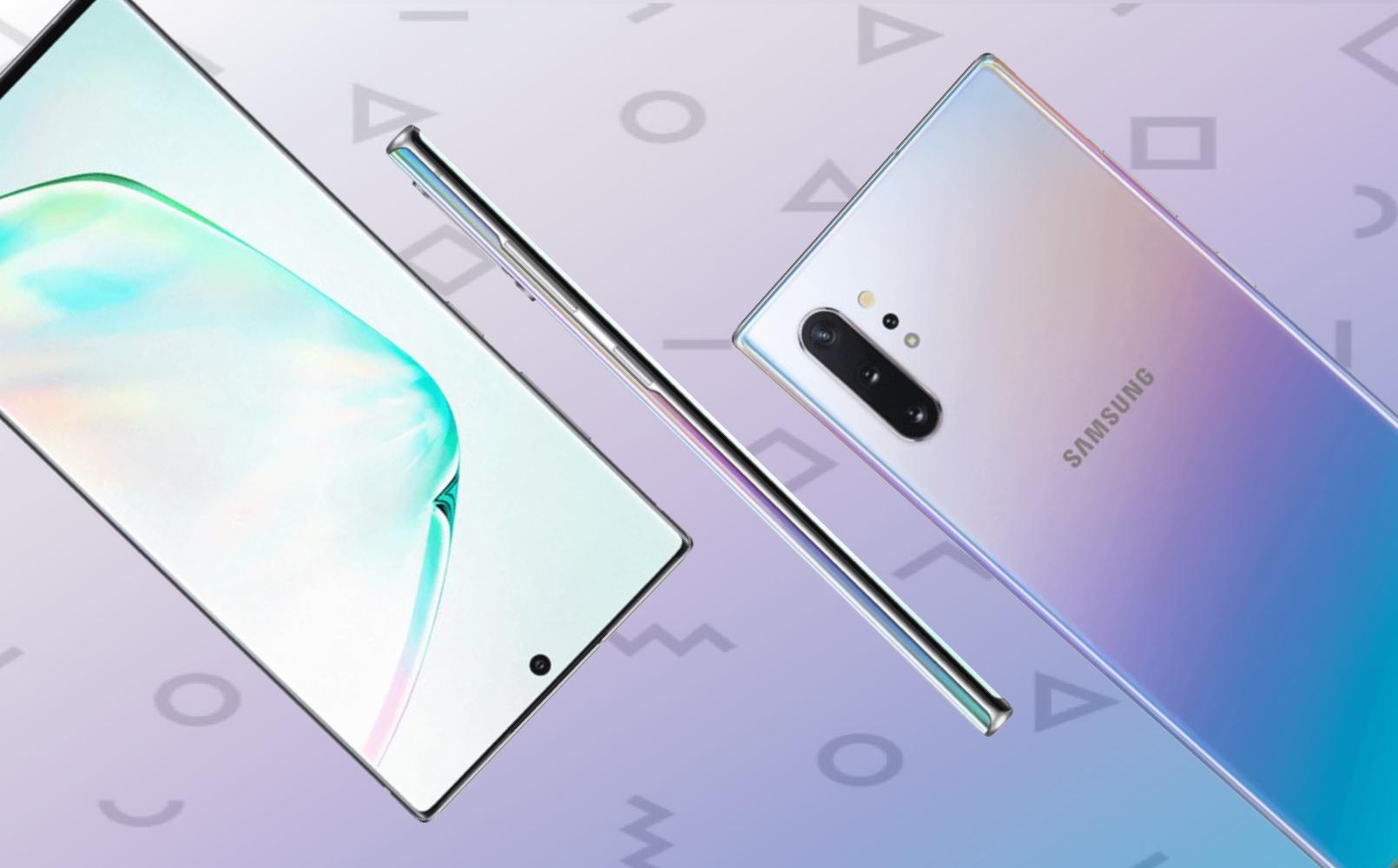 Chưa ra mắt, bộ đôi Galaxy Note10 đã lộ diện rõ nét qua loạt hình ảnh sau