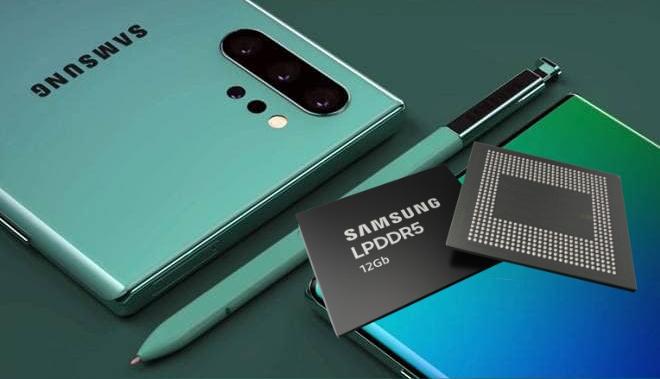 Samsung ra mắt DRAM LPDDR5 12Gb – Dự kiến có trên Note10?