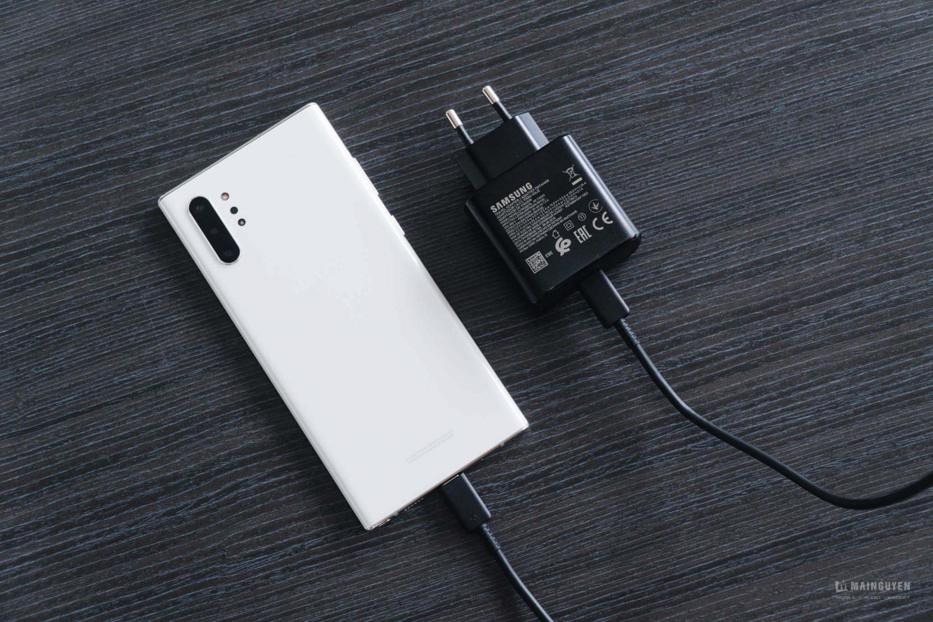 Đây là lí do tại sao bạn nên mua Bộ sạc 45W của Samsung cho Note10+