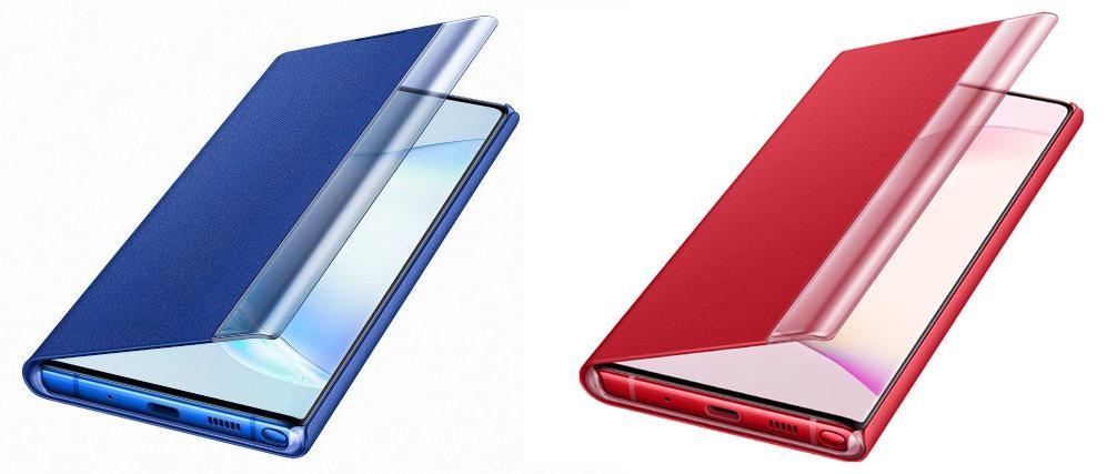 Lộ diện loạt phụ kiện Galaxy Note10: tiết lộ có máy màu đỏ và xanh?